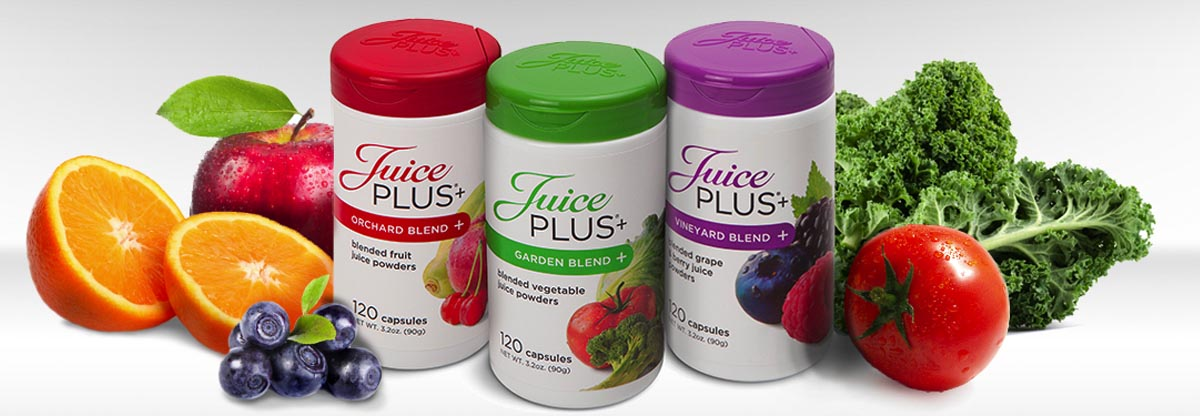 Juice Plus Slider